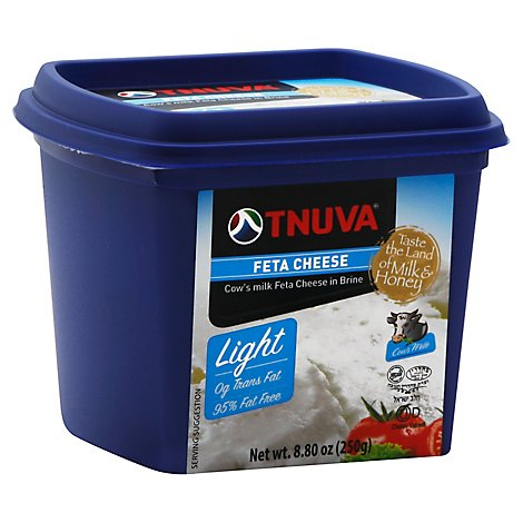 Tnuva Feta Type Bulgarian Light - 9 Oz