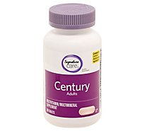 Signature Care CENTURY Adults Vitamin D 1000IU Dietary Supplement Tablets - 200 Count