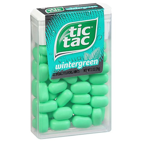 Tic Tac Mints Wintergreen - 1 Oz
