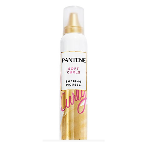 Pantene Pro V Mousse Curl for Soft Touchable Curls - 6.6 Oz.