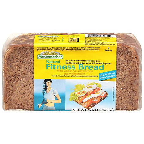 Mestemacher Fitness Bread - 17.6 Oz