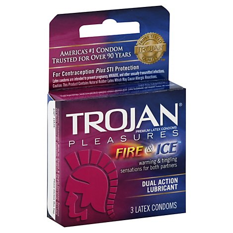 Trojan Fire & Ice - 3 Count