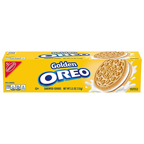 OREO Cookies Sandwich Golden Chocolate - 5.5 Oz