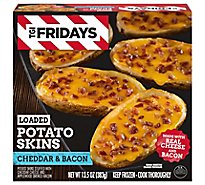 TGI Fridays Loaded Potato Skins Cheddar & Bacon - 13.5 Oz
