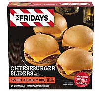 TGI Fridays Cheeseburger With Sweet & Smoky BBQ Sauce - 12 Oz