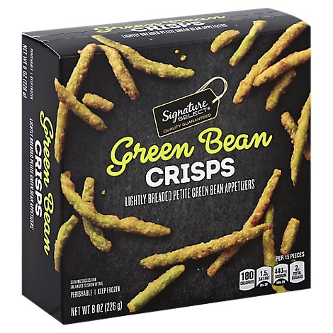 Signature SELECT Green Bean Crisps - 8 Oz