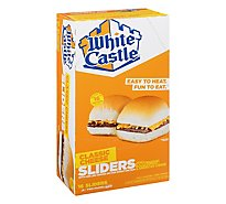 White Castle Microwaveable Cheeseburgers - 16 Count