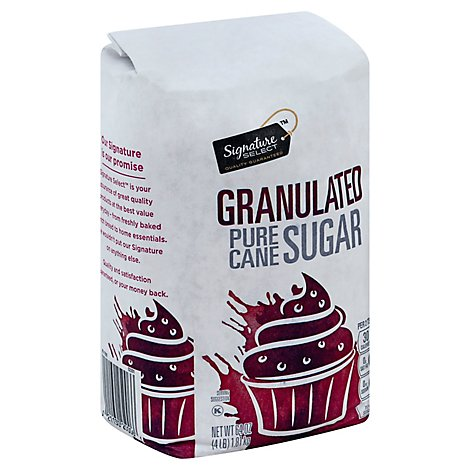 Signature SELECT Sugar Fine Granulated - 4 Lb