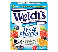 Welchs Fruit Snacks Mixed Fruit - 10-0.9 Oz