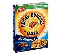Honey Bunches of Oats Cereal With Almonds - 14.5 Oz