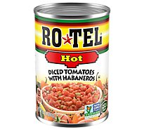 RO-TEL Diced Tomatoes With Habaneros Hot - 10 Oz