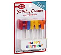 Betty Crocker Candles Happy Birthday - 13 Count