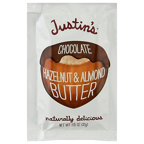 Justins Hazelnut Butter Chocolate Blend - 1.15 Oz