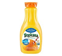 Tropicana Juice Pure Premium Orange No Pulp Calcium + Vitamin D Chilled - 52 Fl. Oz.