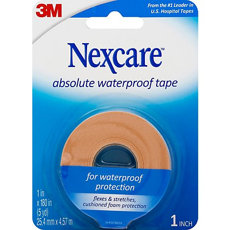 Nexcare Skin Tape Cushions Absolute Waterproof 1 Inch - Each