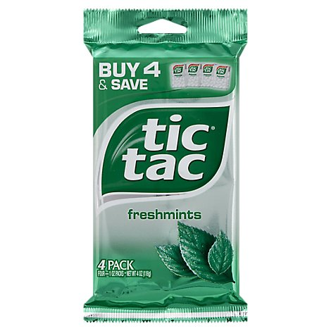 Tic Tac Freshmints - 4 Oz