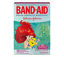 BAND-AID Brand Adhesive Bandages Disney Princess Assorted Sizes - 20 Count