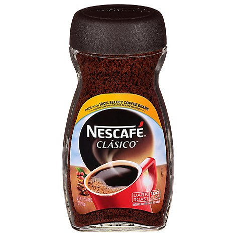 NESCAFE Classico Coffee Instant Dark Roast - 7 Oz