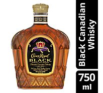 Crown Royal Black Canadian Whiskey 90 Proof - 750 Ml
