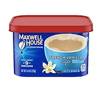 Maxwell House International Beverage Mix Cafe-Style French Vanilla Cafe - 8.4 Oz