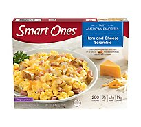 Smart Ones Tasty American Favorites Meal Ham And Cheese Scramble - 6.49 Oz