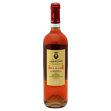 Five Roses Leone De Castris Primo Rosato Wine - 750 Ml