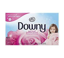 Downy Fabric Softener Sheets April Fresh Box - 120 Count