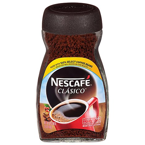 NESCAFE Classico Coffee Instant Dark Roast - 3.5 Oz