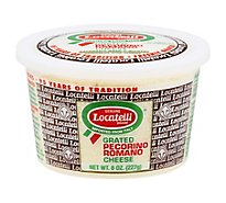 Locatelli Cheese Romano Grated Cup - 8 Oz