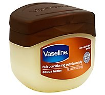 Vaseline Petroleum Jelly Cocoa Butter - 7.5 Oz