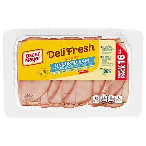 Oscar Mayer Deli Fresh Honey Ham Family Size - 16 Oz.