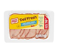 Oscar Mayer Deli Fresh Ham Honey Family Size - 16 Oz