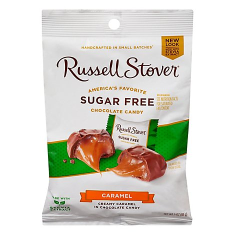 Russell Stover Chocolate Butter Cream Caramel with Milk Chocolate - 3 Oz
