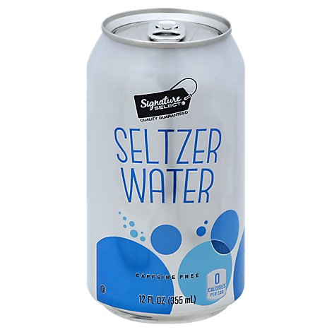 Signature SELECT Refreshe Seltzer Water - 6-12 Fl. Oz.