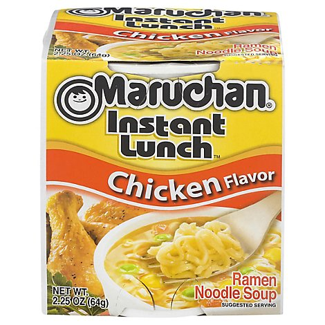 Maruchan Instant Lunch Ramen Noodle Soup Chicken Flavor - 2.25 Oz