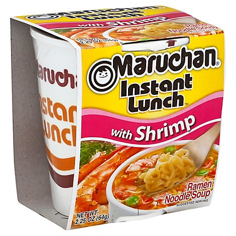 Maruchan Instant Lunch Ramen Noodle Soup with Shrimp - 2.25 Oz