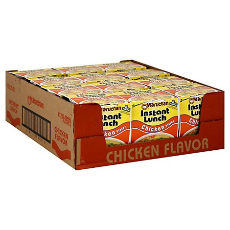 Maruchan Instant Lunch Ramen Noodle Soup Chicken Flavor - 12-2.25 Oz