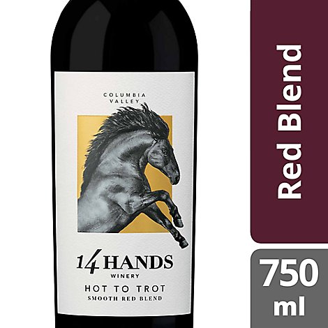 14 Hands Hot To Trot Wine Red Blend - 750 Ml