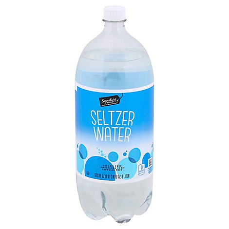 Signature SELECT Water Seltzer - 2 Liter
