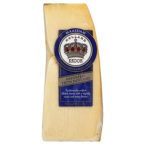 Holland Kroon Masdaam Cheese Swiss - 8 Oz
