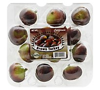 Figs Black Brown Prepacked - 12 Oz