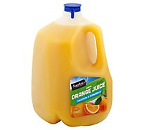 Signature SELECT Juice 100% Orange No Pulp Chilled - 128 Fl. Oz.