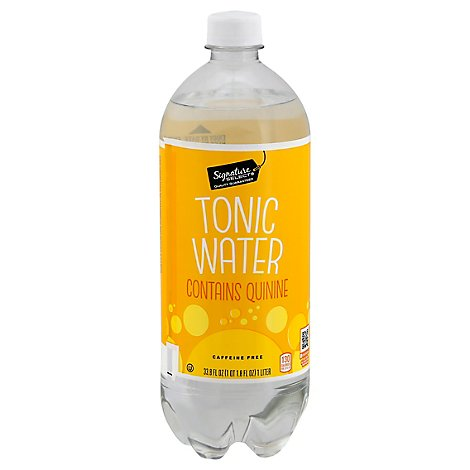Signature SELECT Water Tonic Contains Quinine - 33.8 Fl. Oz.