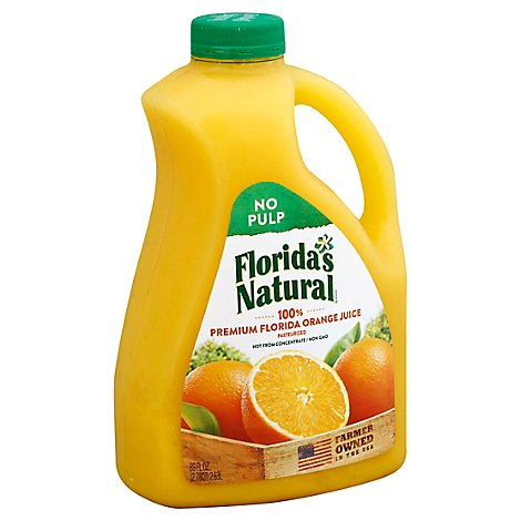 Floridas Natural Juice Orange No Pulp Chilled - 89 Fl. Oz.