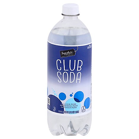 Signature SELECT Club Soda - 33.8 Fl. Oz.