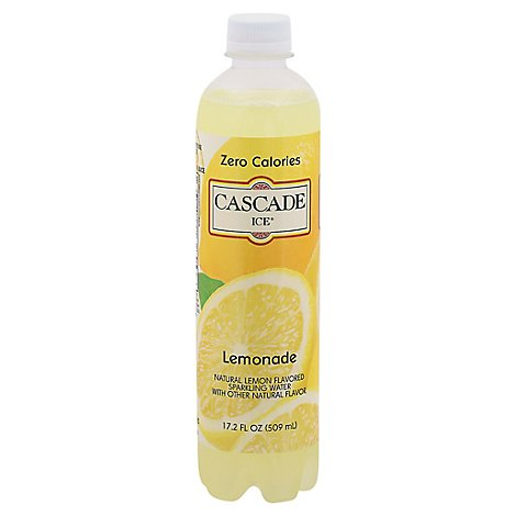 Cascade Ice Sparkling Water Lemonade - 17.2 Fl. Oz.
