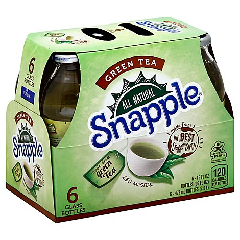 Snapple Iced Tea Green - 16 Fl. Oz.