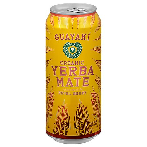 Guayaki Yerba Mate Revel Berry - 16 Fl. Oz.