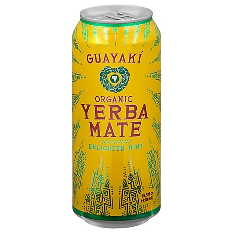 Guayaki Yerba Mate Enlighten Mint - 16 Fl. Oz.