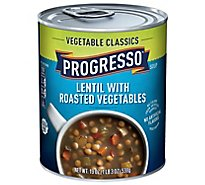 Progresso Vegetable Classics Soup Lentil with Roasted Vegetables - 19 Oz